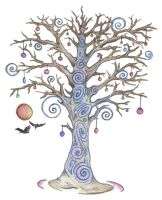Spiral Tree by Spiralpathdesigns