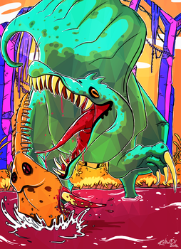 Spinosaur by SuperRetro8it