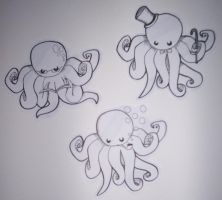 More octopi by 187925