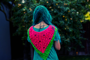 Watermelon Scarf 4 by candypow