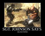 Sgt. Johnson Says by Ozone51