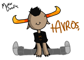 :REQ: Tavros is adorable by Minkerdoodle