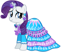 Rarity's Dress by Missy12113