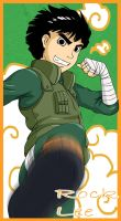 The New Rock Lee by Kairi-Moon