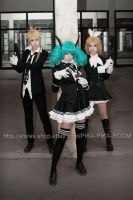 VOCALOID secret Police7 by PIKAPIKAROOM