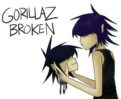 Gorillaz Broken final ver. by Vey-kun