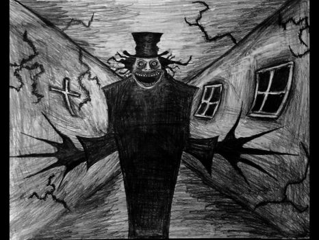 The Babadook by Kongzilla2010