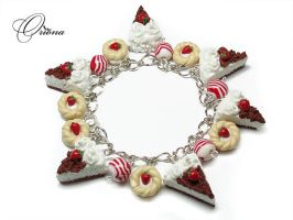 Bracelet 'Strawberry' 4 by OrionaJewelry