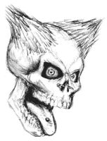 Punk Skull by mike-a