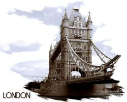 Tower Bridge wallpaper2 by evionn