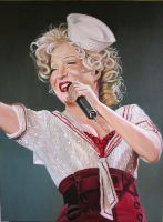 Bette Midler by angelivanovart
