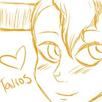 Tavros Sketch by Sparks-Frost