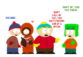 South Park Boys by montys-python