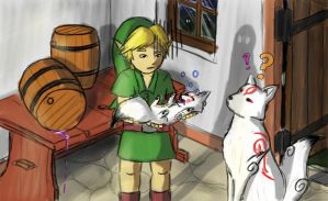 Link Babysitting, humm by Jo-Onis