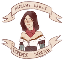 Bethany Hawke Defense Squad by 1000butts