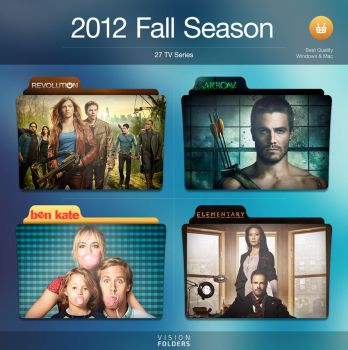 2012 Fall Season Folders by VisionFolders