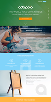 Adappio landing page (first Idea) by Zoltons