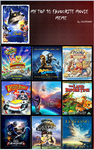 My top 10 favourite Animated films of all time by Sonic2125