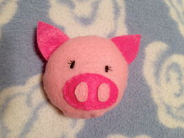 Lil' Pink Piggy Plush by Sizab
