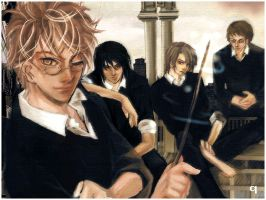 The Marauders - HarryPotter by qkie