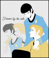 OTP Kirk/Spock - Captain's First Officer by KatsuyaCrimson