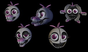 Funtime Chica (Fan Made) by Critolious