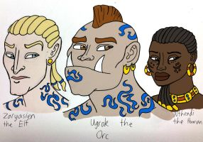 Cast of Cultural Contamination by DaBrandonSphere