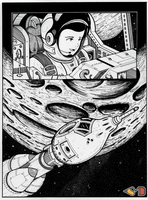 Journey To The Moon P2 by Jeyco