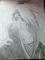 Deidara by SnowFallAtTwilight