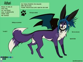 Ashuri Ref Commish by SilverSkittle