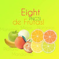 Eight PNGS de frutas by thisisexpressed
