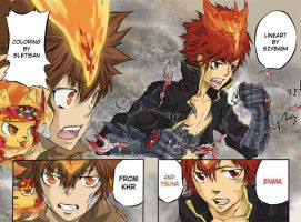 X Vongola and X Shimon by Bletisan
