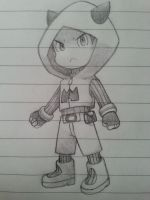 Chibi Magma Grunt by RayquazaQueen