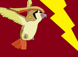WhirlWind, my Pigeot. by Mrsnakehead08
