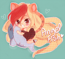 Angel Fish by puddinprincess