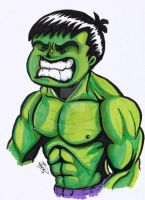 Hulk-The Monkey and the Mouse by kevbrett