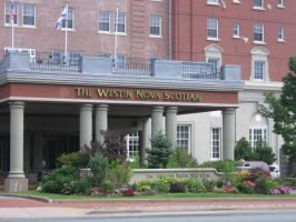 Westin Halifax Hotel Front by Tari-Stock