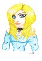 The Blond Lady by JadeTheAngle777