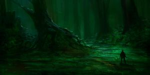 Forest Concept Piece 3 by parkurtommo