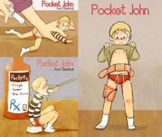 Pocket!John is Sick by Arkham-Insanity