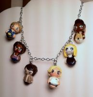 True blood chibi necklace by spaztazm