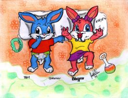 Baby Babs and Buster 2 by davidcool1989