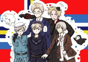 NORDICS!!! by LucatLula