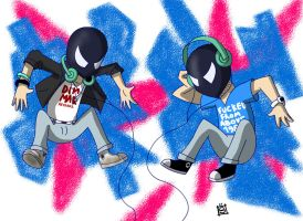 The Bloody Beetroots by Mr-Shin