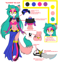 Alaisha The Wolf: NEW REFERENCE 2014 by AlaishaTheWolf