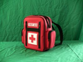 First Aid BackPack by kyrencross