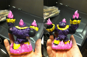 Skylanders: Custom Shaman Hot Head by neilsugg