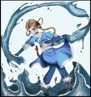 Katara --point commission by diabolical-pyro