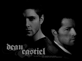 Destiel: Wallpaper1 by BelovedBastet