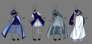 COM Jenny outfits by Elairin